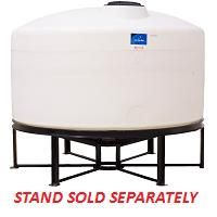1300 Gallon Cone Bottom Tank With Images Gallon Storage Tank