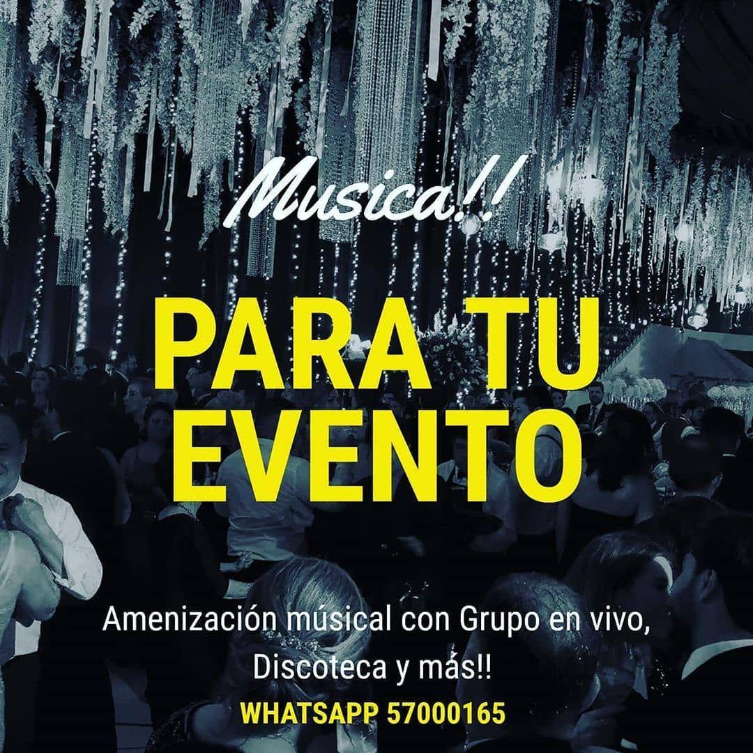 Para tu fiesta no debe faltar la mejor amenizacion musical!! . . Contactanos: 57000165 . . . . . . . . #bodas2020 #Bodas2021 #bodasgt #guatebodas #wedding #weddingguatemala #weddings #weddingday #weddingmusic #weddingsguatemala #musicaparatuboda #musicaenvivo #grupomusical #discoteca #MusicaParaTusEventos #MusicaParaBailar #musica #Fiesta #Parranda #party #FourSingersgt #GrupoDetalleGt #guatemala502 #weddings2020 #wedding2021 #bodasguatemala #bodasguate #bodasconencanto #BodasAntiguaGuatemala #A