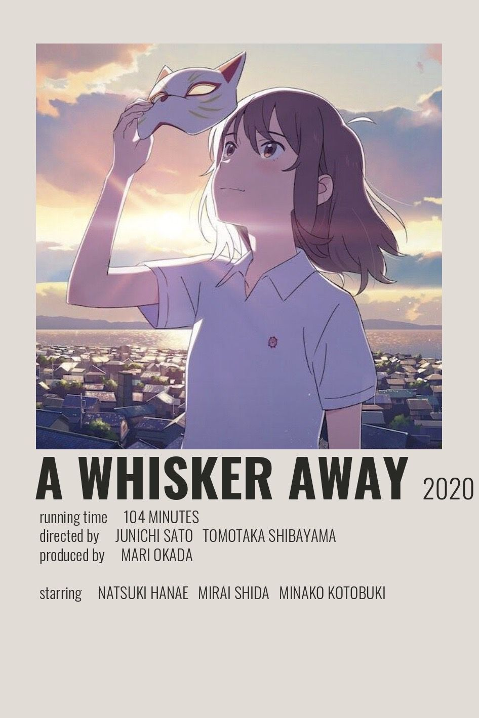 A Whisker Away Poster by Cindy