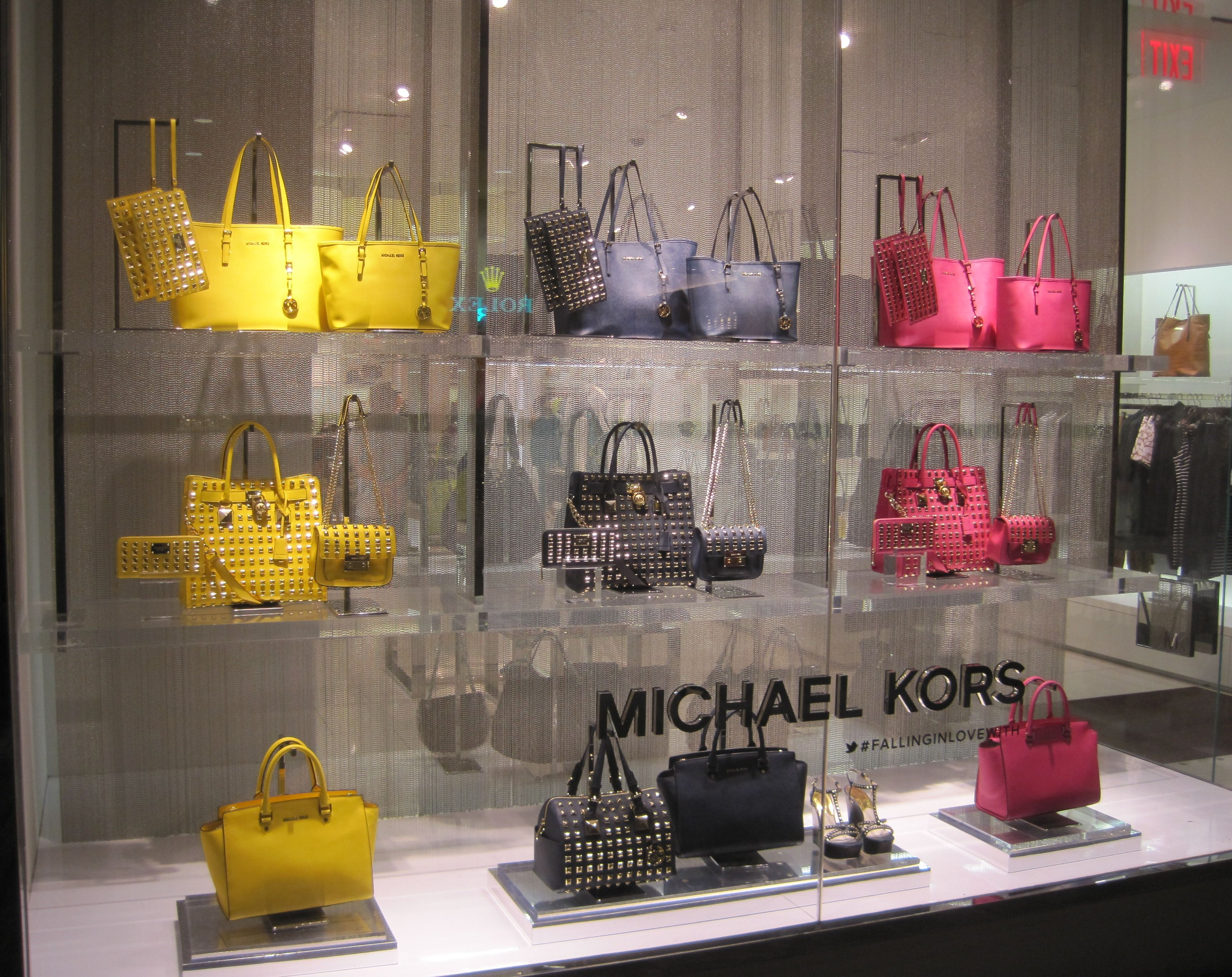 Purses in Stores