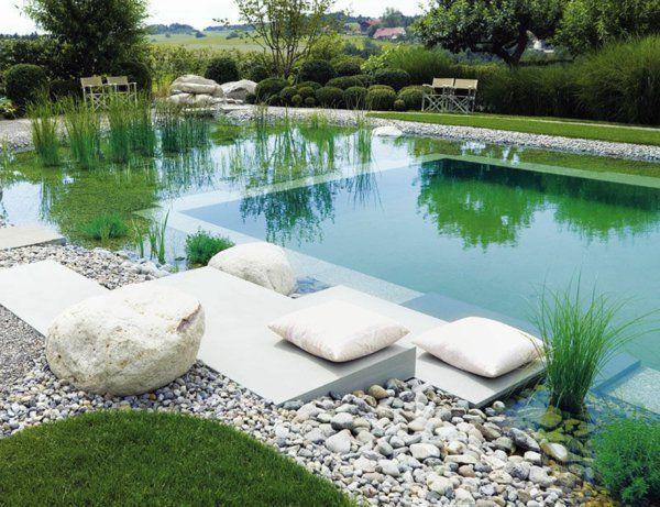 101 erstaunliche Bilder von Pool im Garten Pool, Schwimmteich - gartenteich mit brucke und bachlauf