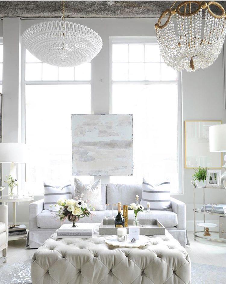 imagebridget downey on all white  living room designs