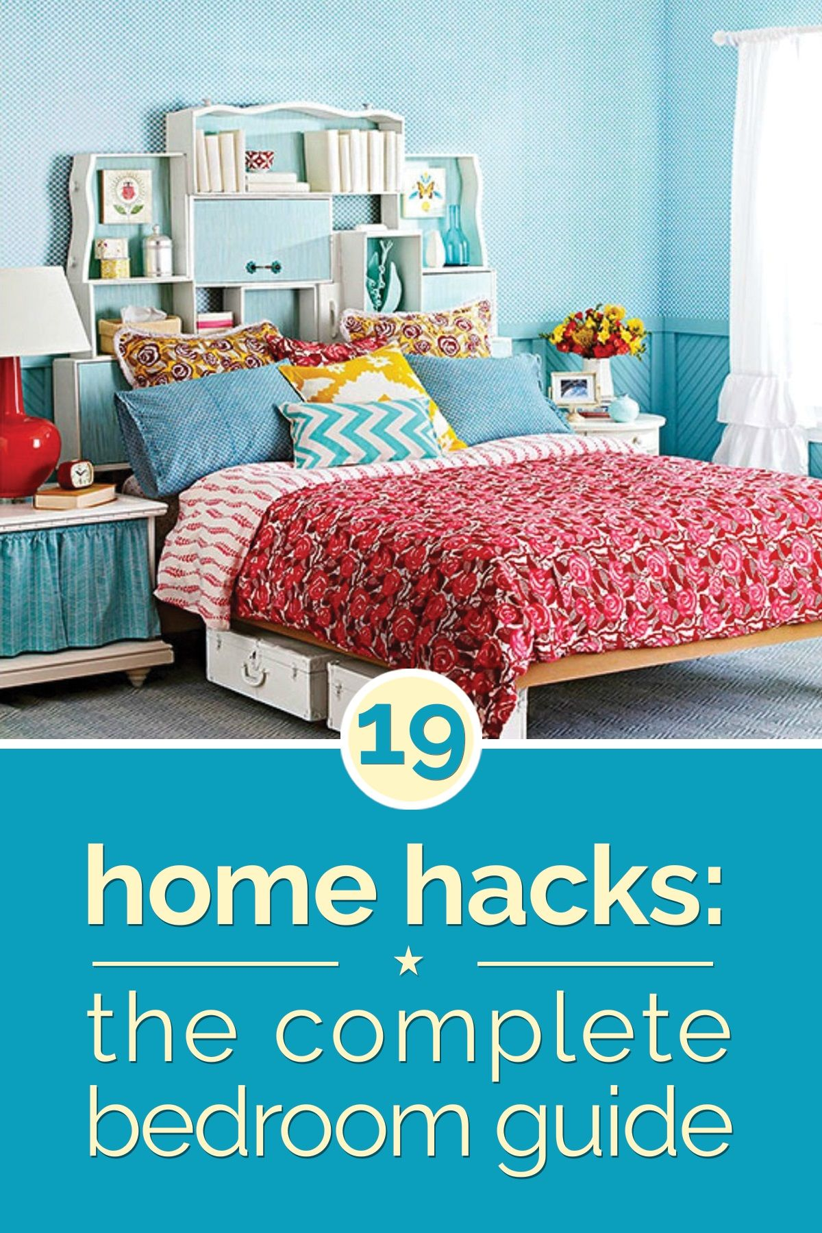 Home Hacks 19 Tips to Organize Your Bedroom Home hacks