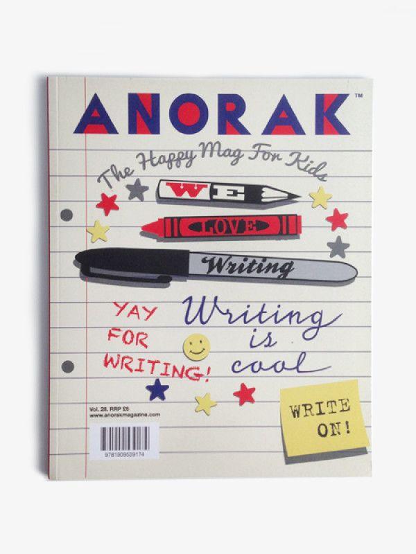 Anorak Magazine – Writing