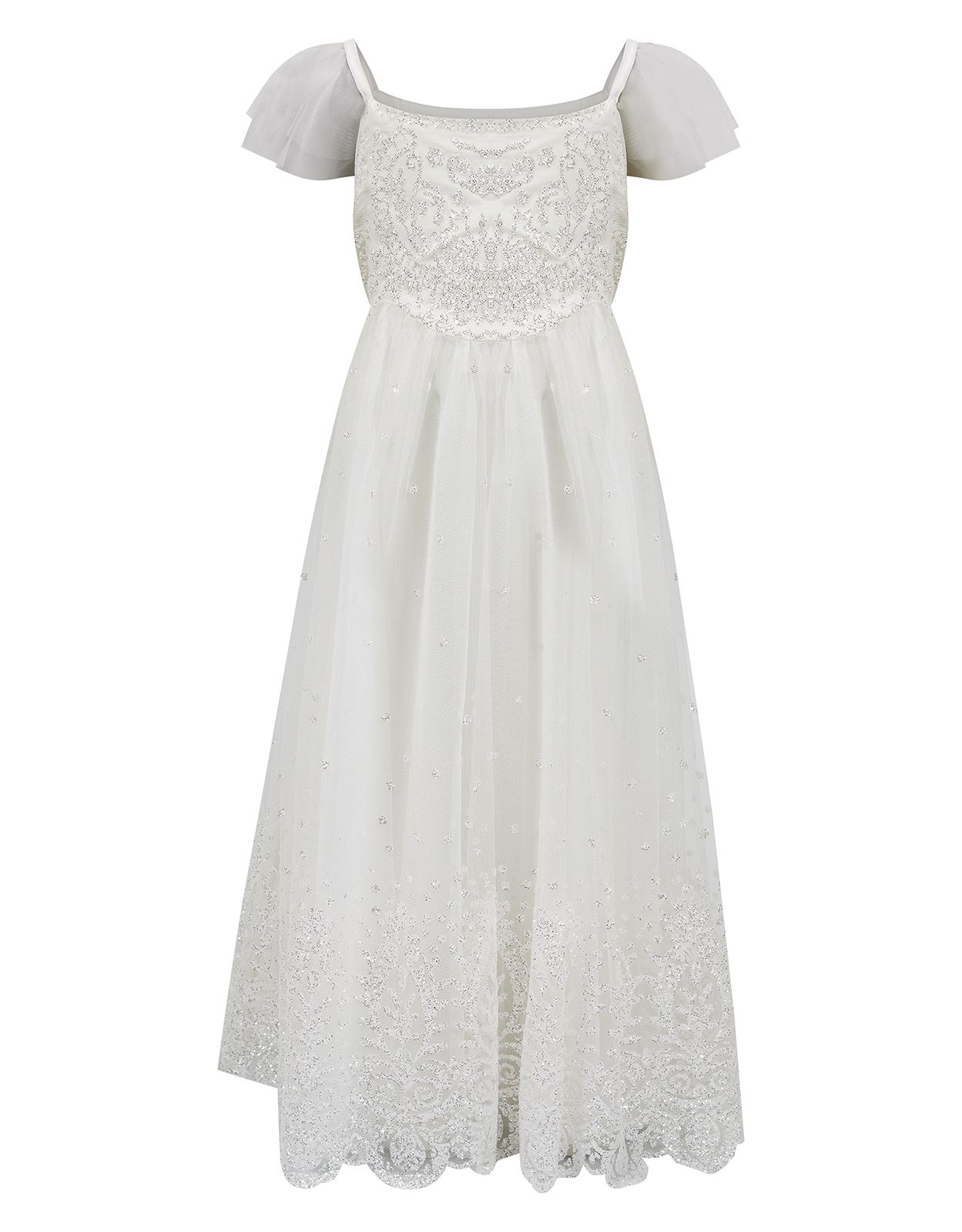 0f9cc74e I love this one /// Glitter Estella Dress | Ivory | Monsoon ...