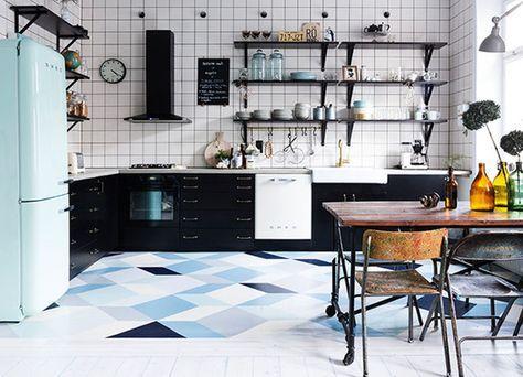 7x Klassiek Interieur : 7x bijzondere keukenvloeren keukenvloeren keukens en keuken