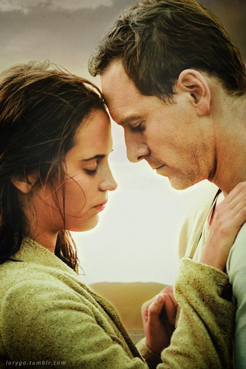 "Michael Fassbender and Alicia Vikander in ""The Light Between Oceans"" upcoming 2016 film"