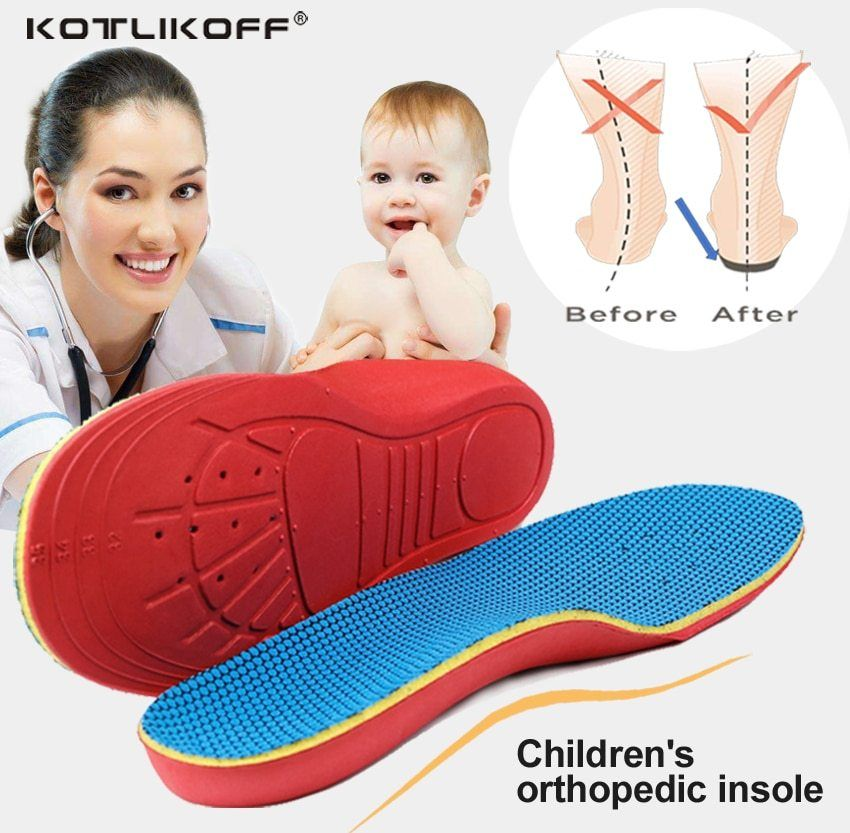 Insoles Orthotic Pads Correction