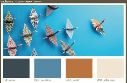 Kleurinspiratie Mathys Paints Cachemire kleuren - Color inspiration Mathys Paints Cachemire colors
