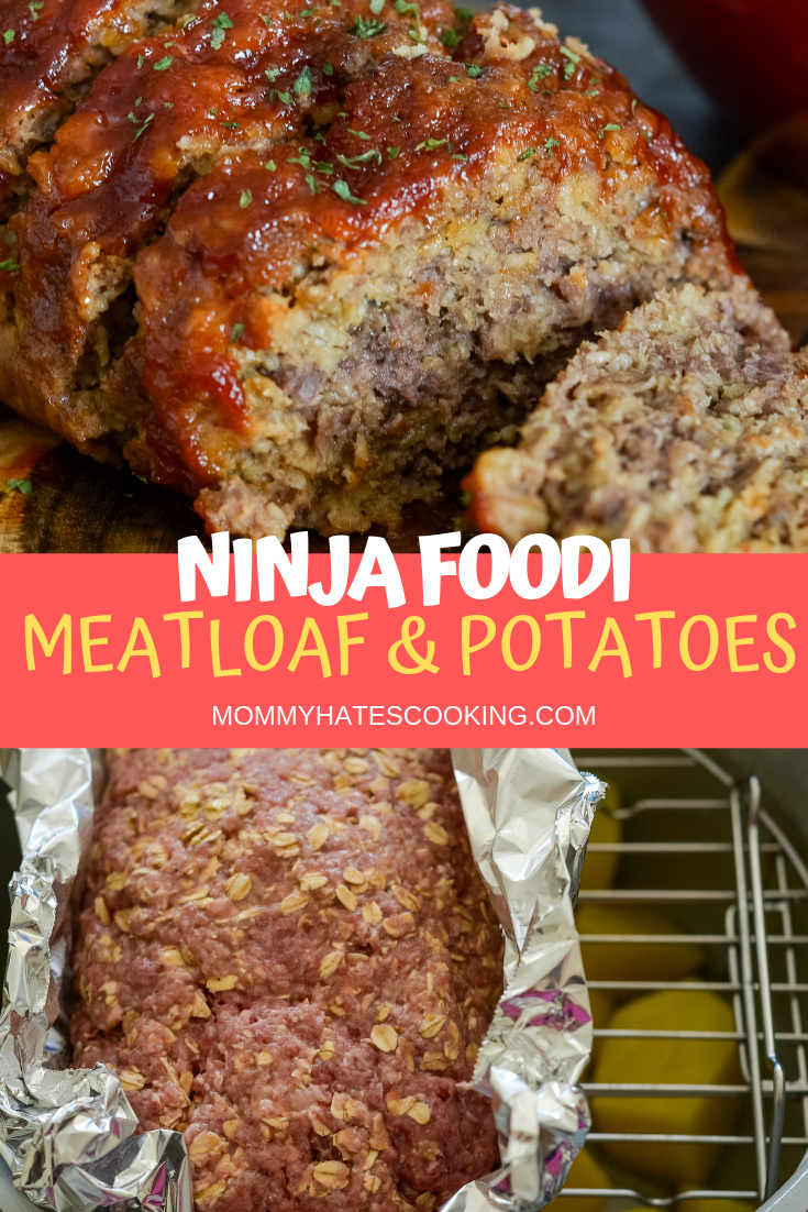 One Pot Ninja Foodi Meatloaf And Potatoes Recipe Foodie Recipes Ninja Cooking System Recipes Recipes