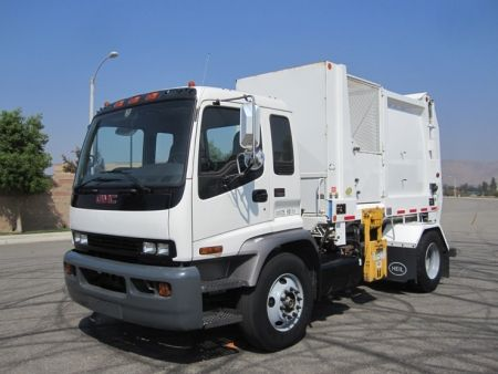 2008 Gmc Garbage Truck For Sale With Heil Side Loader Sl770899 Trucks For Sale Garbage Truck Trucks