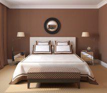 Envie d\'une chambre cosy avec des tons marron chocolat ? Deco ...