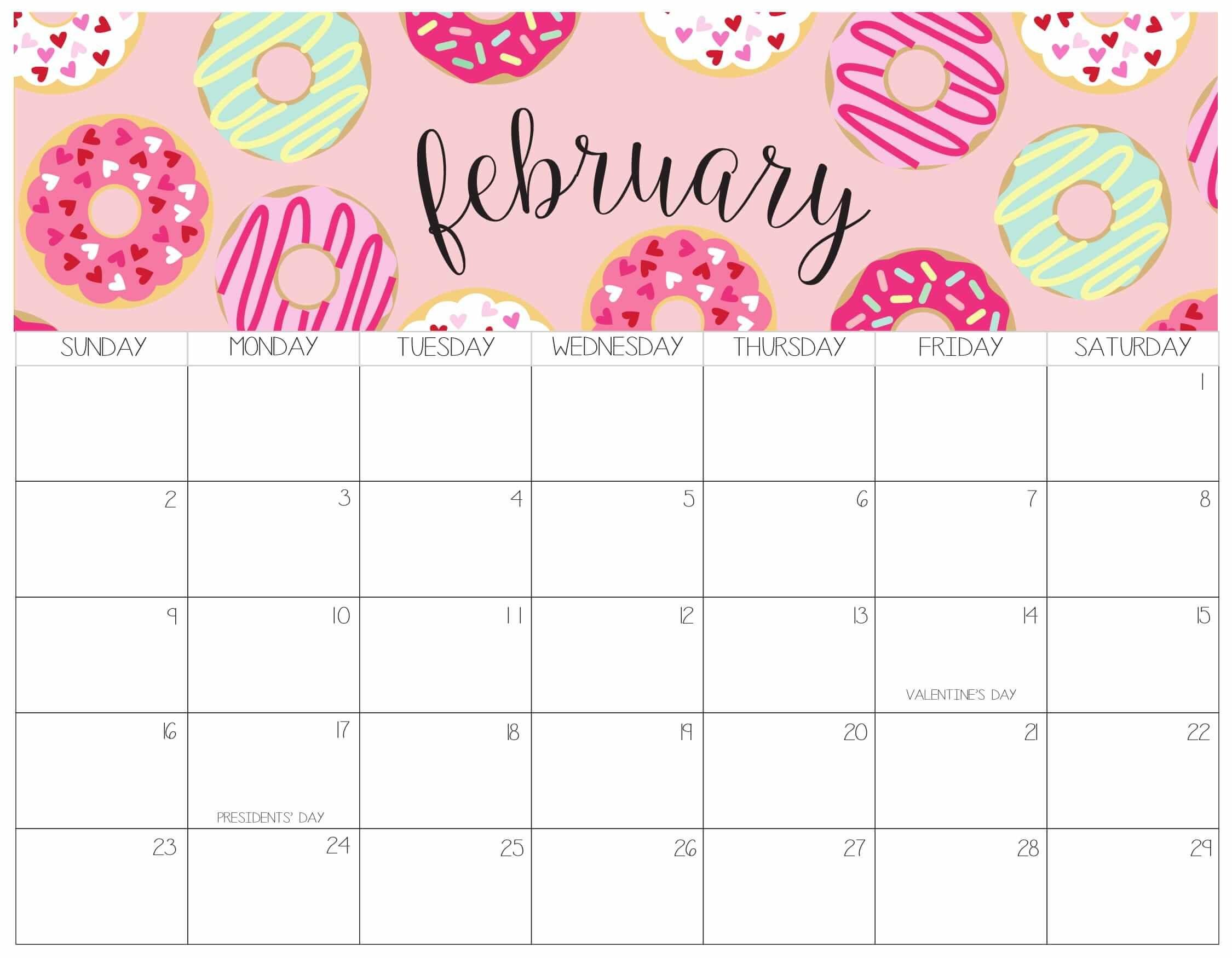 February 2020 Calendar Australia With National Holidays V 2020 G