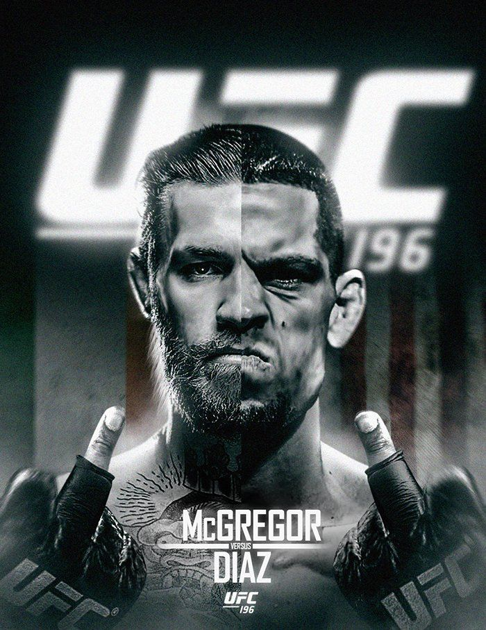 Conor Mcgregor Vs Nate Diaz Artwork If You Love Mma You Ll Love The Ufc Mixedmartialarts Inspired Fashion At Cagecult Cagec Ufc Ufc Fighters Nate Diaz
