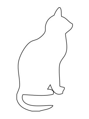cat zentangle outline - Google Search Zentangle Pinterest - outline template