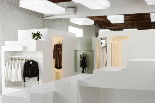 Bureau Spectacular Uses An Unorthodox Design Approach For Ready To Wear Brand Frankie Retail Design Design Boutique Design