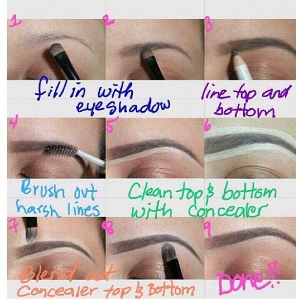 How To Apply Makeup Like A Pro Perfect Eyebrows Tutorial Perfect Eyebrows Skin Makeup