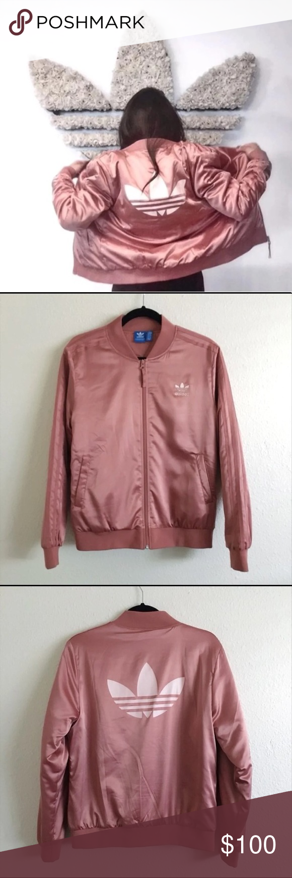 7ef8ec236 Limited edition Adidas bomber jacket Sold out everywhere Adidas ...