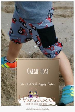 Coole kurze Hose im Cargo-Style für Jungs und Mädels ⋆ Mamahoch2