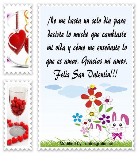 poemas para San Valentin para descargar gratis,palabras originales para San Valentin para mi pareja: http://www.datosgratis.net/mensajes-de-san-valentin-para-mi-novio/
