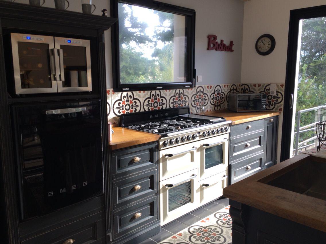 Cuisine Meubles De Metiers Cuisines Maison Piano De Cuisson Lacanche Decoration Interieure