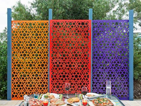 Metalni vrtni ekrani Metalni vrtni ekrani mogu se koristiti kao