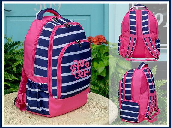 89cc57026121 Presley Prep Stripe Backpack and Lunchbox