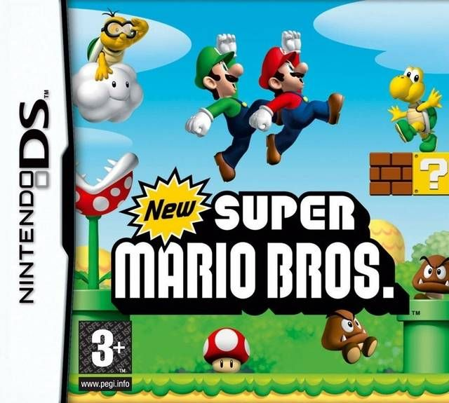 New Super Mario Bros Nds Rom Download Portalroms Com Covers