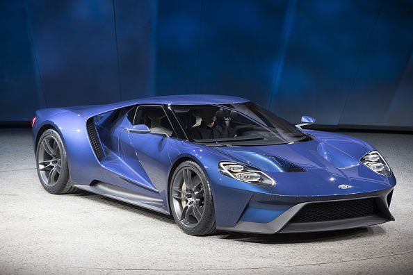 Does it come in black? Ford GT 2015 US-DETROIT-AUTO-SHOW