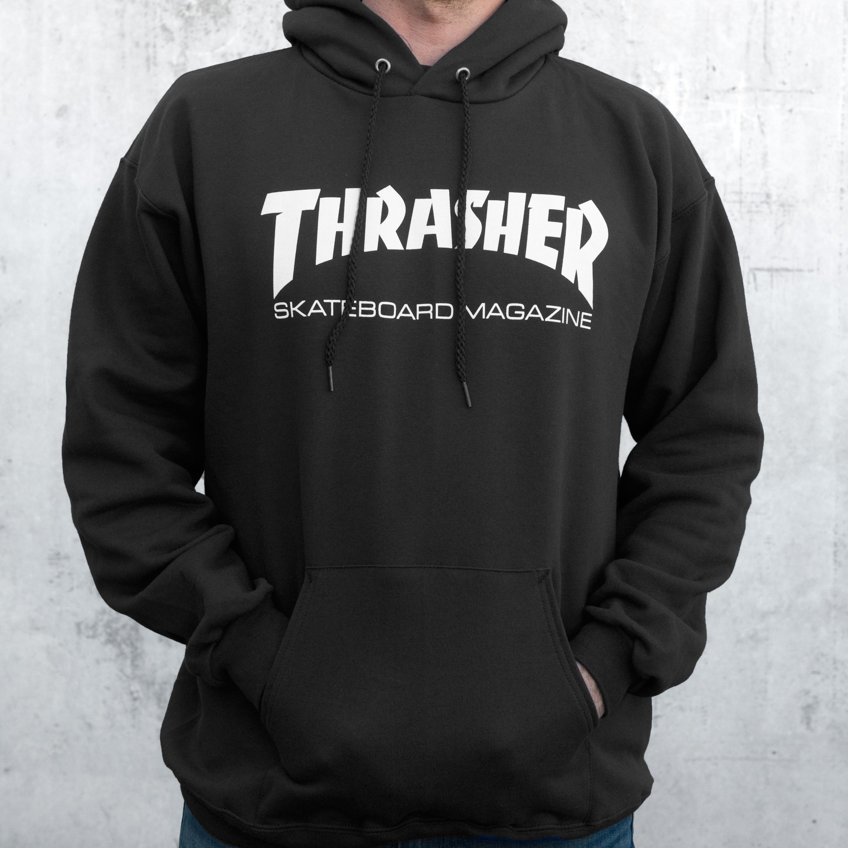 335337365900 Thrasher Flame Logo Forest Green Hoodie in 2019