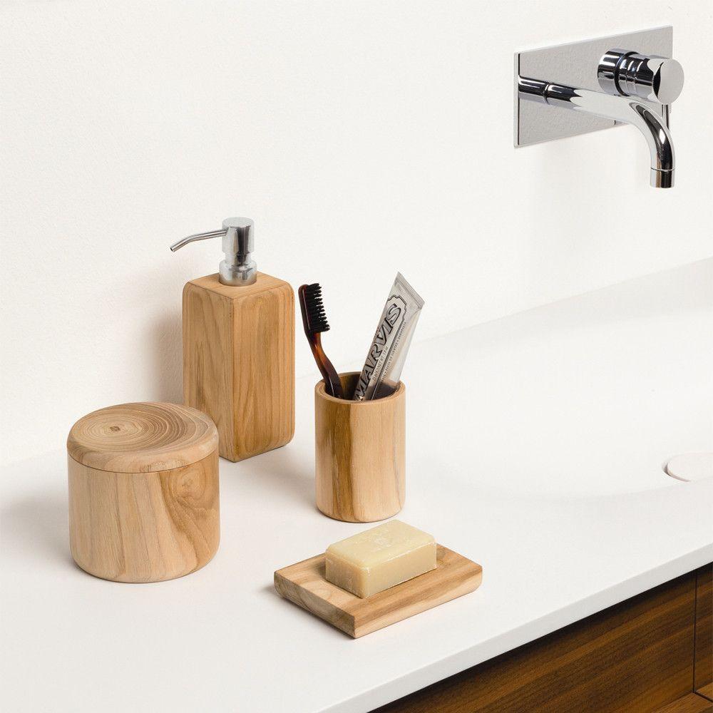 Charming Moeve   Teak Wood Beaker
