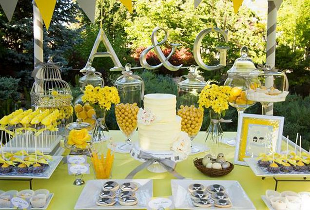 elegant yet playful dessert table | Wedding Ideas | Pinterest ...