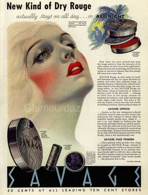 The History Of 1920s Makeup In 2019 Beauty Makeup 1930s Makeup - 1920s-makeup-ads