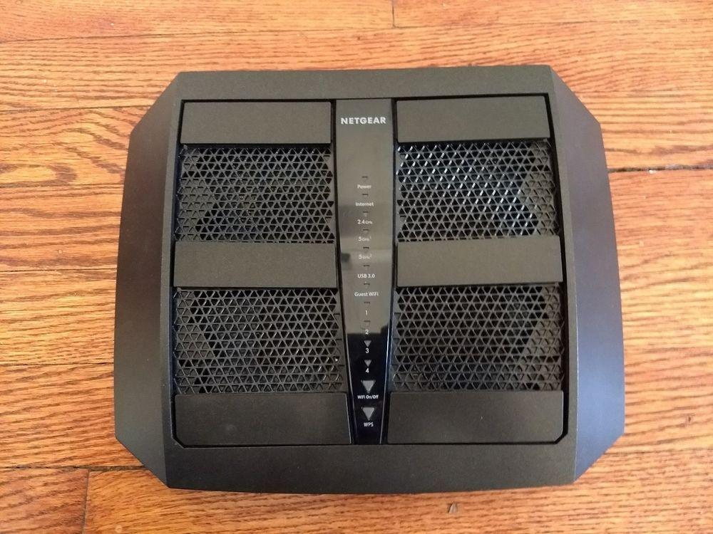Mint Netgear Nighthawk X6 R7900-100NAS AC3000 Tri-Band WiFi