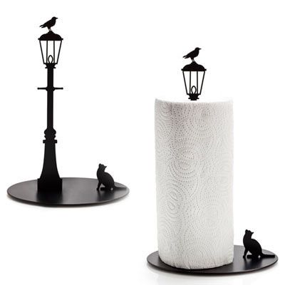 Unique Paper Towel Holders Gorgeous Cat And Crow Paper Towel Holder  Cats  2  Pinterest  Paper Towel Inspiration