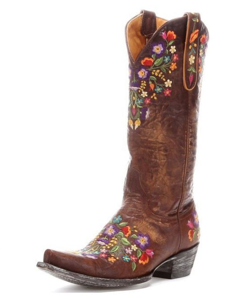 2aa42b7d20d These Old Gringo Women's Sora Brass Western Boots L841-3 are made of ...