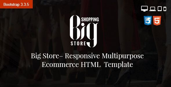 Download Free Big Store Ecommerce Multipurpose Html5 Template