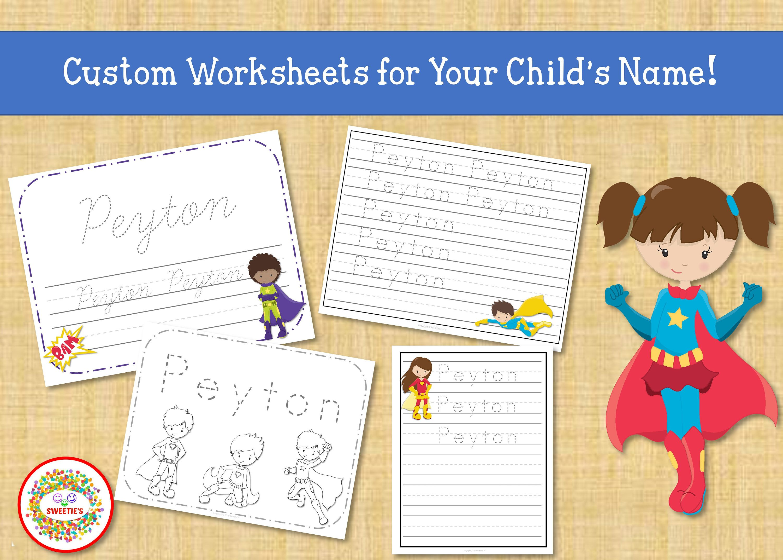 Name Tracing Handwriting Worksheet Personalized Name Etsy Handwriting Worksheets Writing Worksheets Name Tracing [ 2143 x 3000 Pixel ]