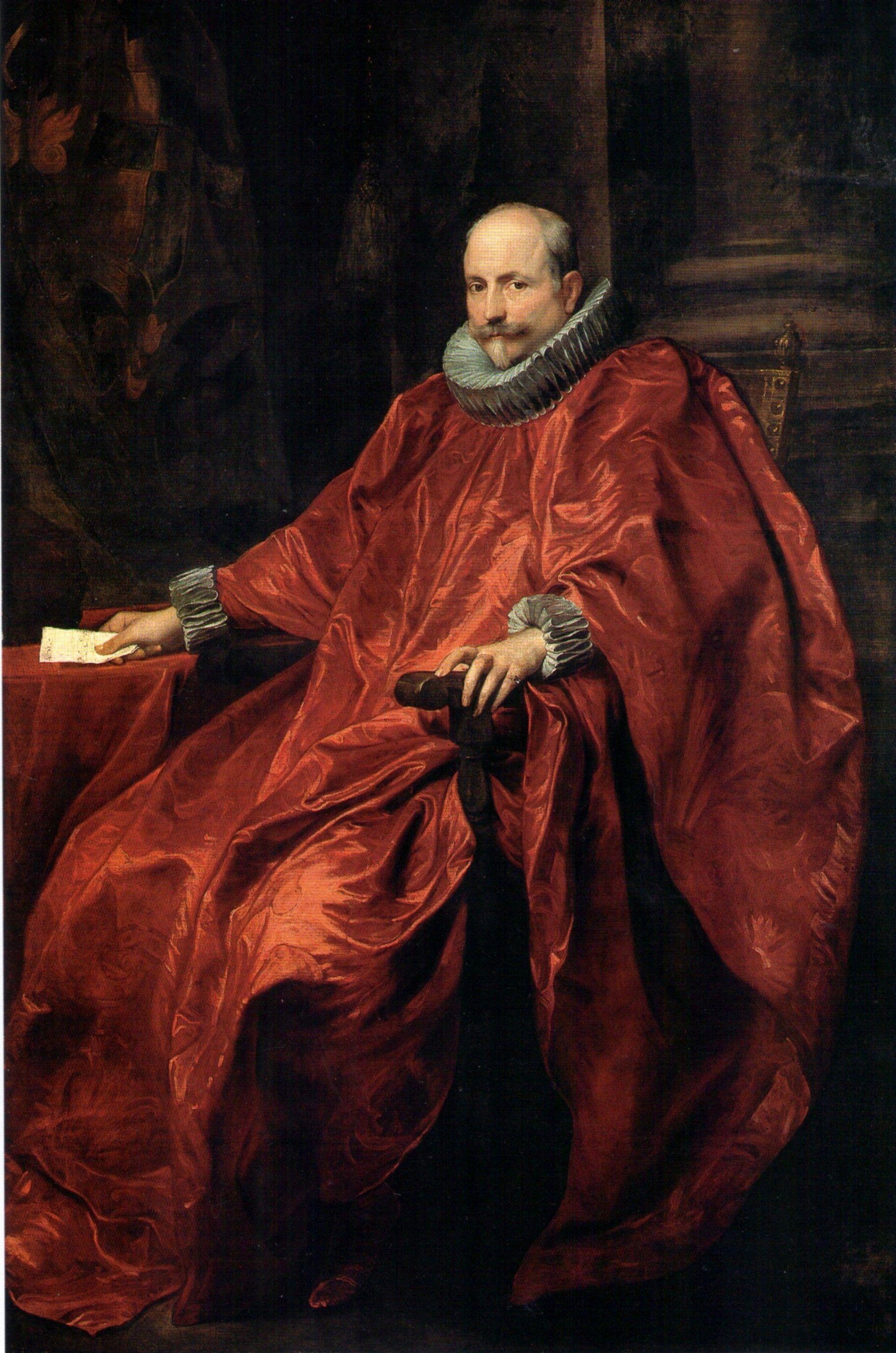 Agostino Pallavicini By Anton Van Dyck C 1621 Anthony Van Dyck Pintura Y Escultura Y Retratos