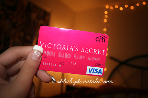Pin by Andrea K. on x Victorias secret credit card, Victoria