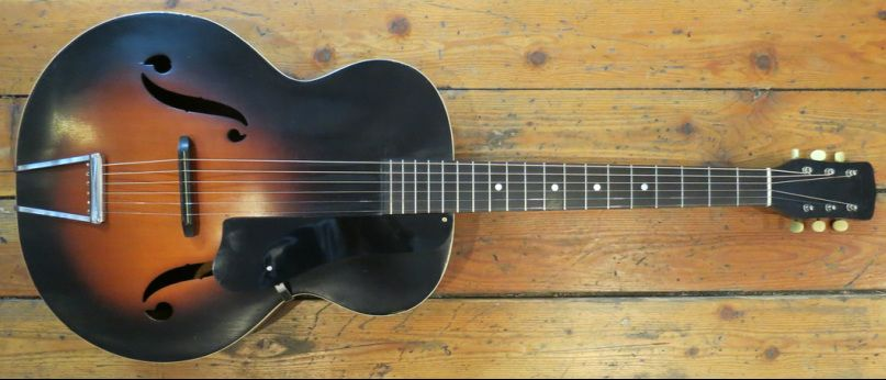 1950 S Kay Acoustic Archtop High Action For Slide Guitar My