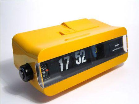 Ebay Watch 1970s Krups Comfortchron Lux Flip Clock Retro To Go Flip Clock Clock Vintage Alarm Clocks