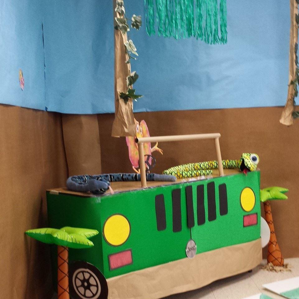 Jungle Safari Vbs: DIY Jeep Desk - Weird Animal VBS 2014