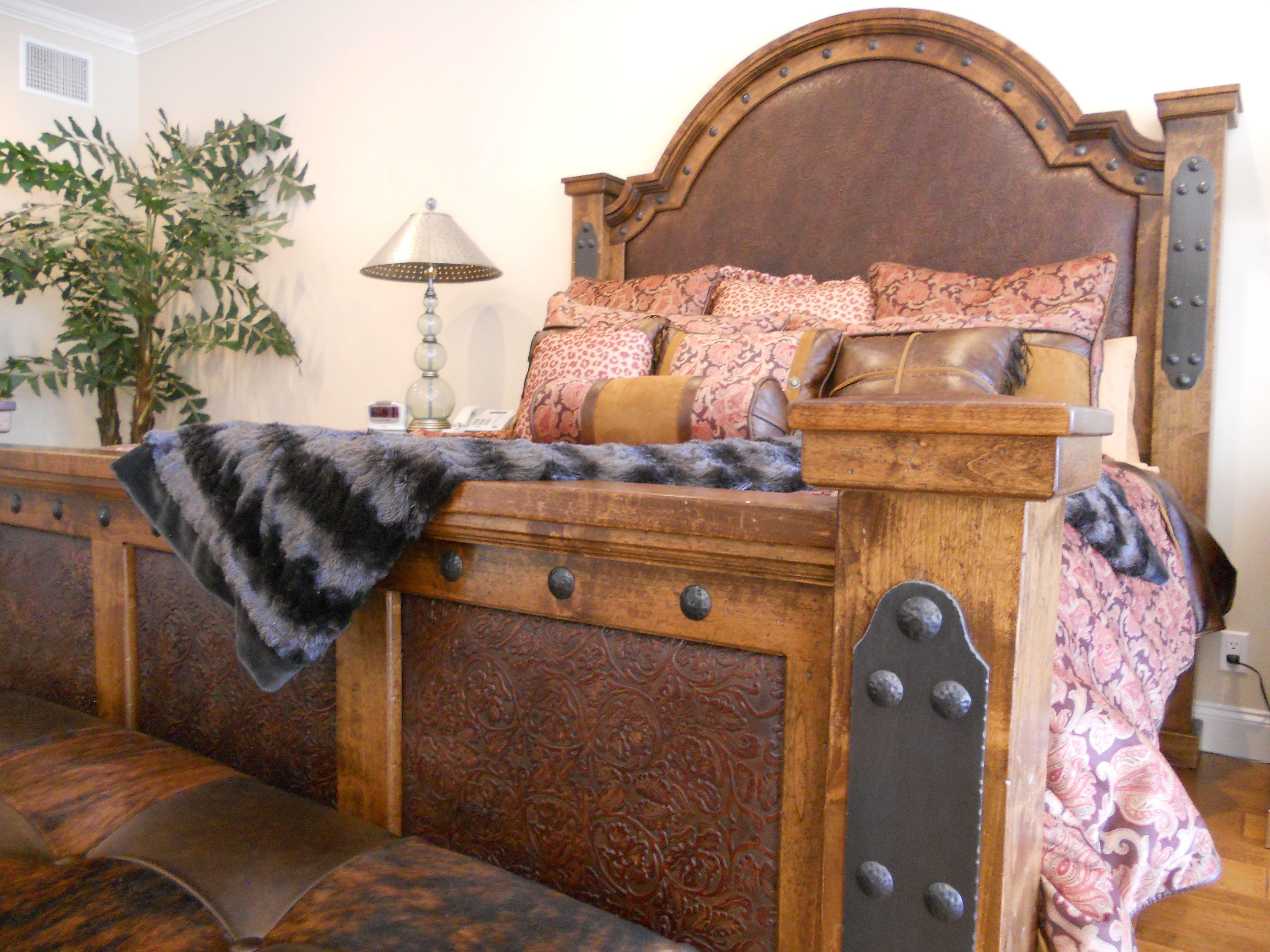 Silverton King Bed Western Furniture Mountain Style