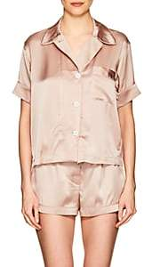 Araks Women s Shelby Silk Charmeuse Pajama Top-Light b11c567cf