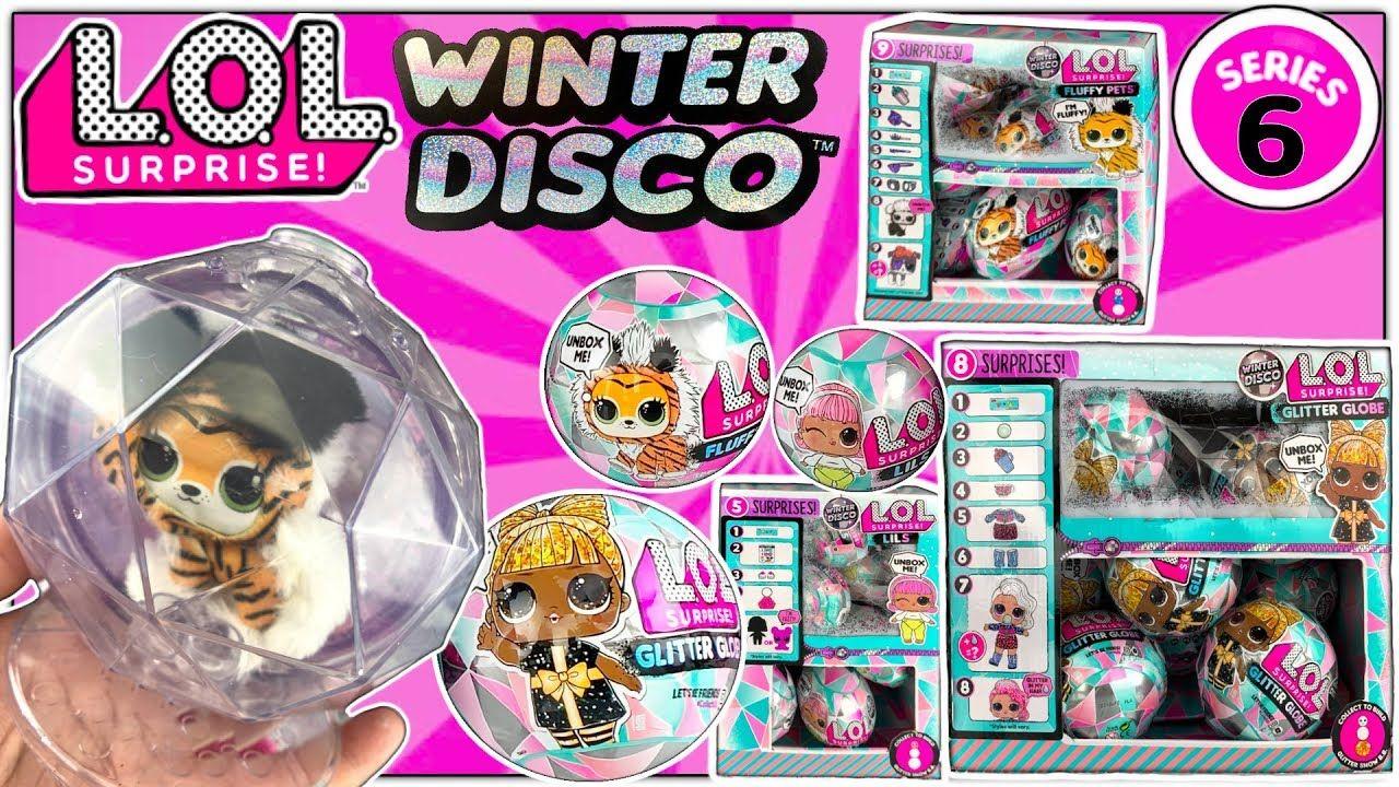 Lol Winter Disco Lol Surprise Series 6 Glitter Globe Lol Dolls Lol Fluffy Pets Lils Part 7 Youtube Lol Dolls Fluffy Animals Glitter Globes