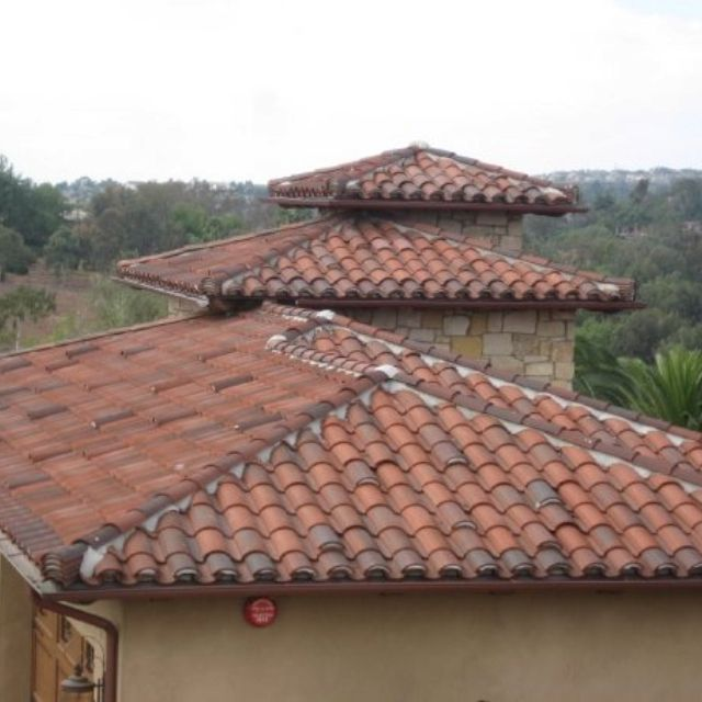 Clay tile different types of roof systems pinterest for Different types of roofing systems