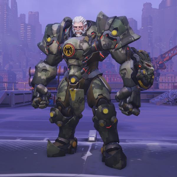 File Reinhardt Skin Bundeswehr Png Overwatch Character Design Fantasy Armor