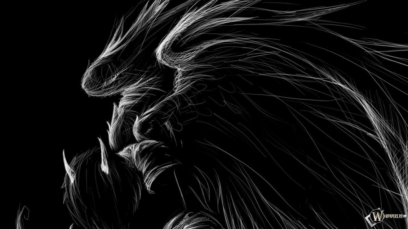 Amazing Fantasy Dark Angel Black Background HD Wallpaper Image