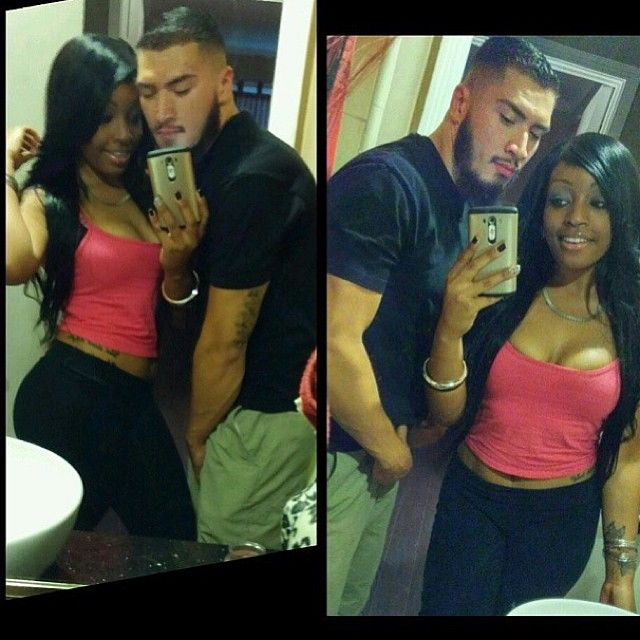 Blackwomenlatinomensexy Couple Black And Mexican And -9102